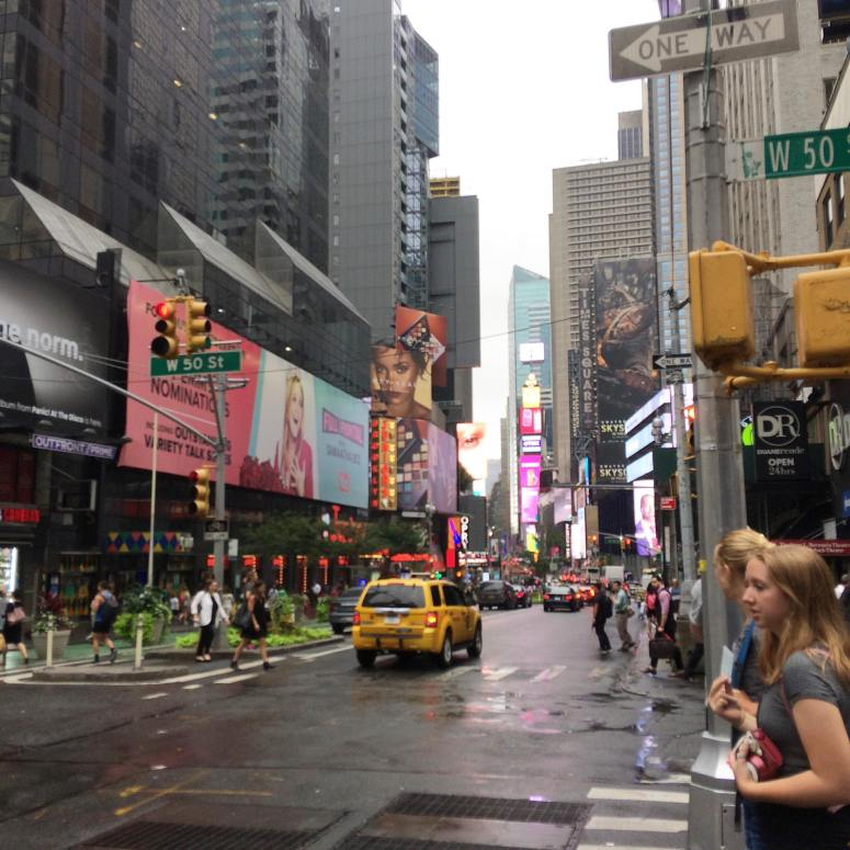 Times Square from 50th St